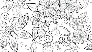 Free Printable Flower Coloring Pages For Adults Free Printable