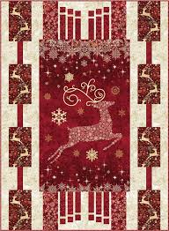 Best 25+ Panel quilts ideas on Pinterest | Fabric panel quilts ... & Dazzle Christmas panel quilt pattern with three border designs by Quilts by  Jen Adamdwight.com