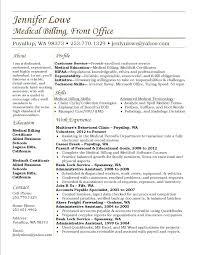 Medical Billing Resume Amazing 909 Medical Billing Resume Objective Lifespanlearn