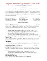 sample resume chef biography examples sample resume cover letter gallery of house cleaning resume sample