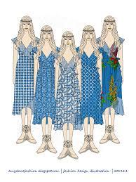 Types Of Design In Fashion Amy Stones Fashion Flat Sketches Boho Style Dress Fashion