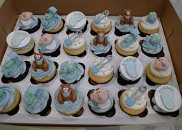 Photo Baby Shower Cupcakes Delivered Image