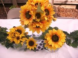 Sunflower Decoration For Kitchen Sunflower Centerpiece Ideas Sunflower Decorations For Kitchen Home