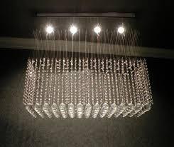 smashing furniture hanging chandelier and rectangular