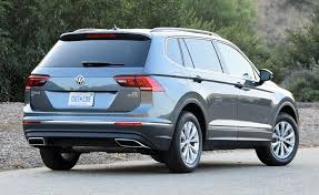 2018 volkswagen tiguan black.  black though the 2018 volkswagen tiguan se isnu0027t terribly exciting to behold its  conservative design is likely age well and volkswagen tiguan black