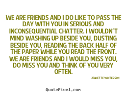 Serious Quotes About Friendship