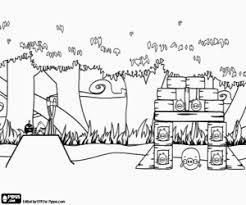 Kleurplaten Angry Birds Kleurplaat