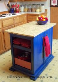Make The Best of Things: Nightstands Turned Kitchen Island...Really!