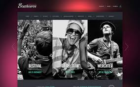 Music Website Templates Adorable 48 Best Music WordPress Themes 48 AThemes
