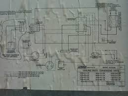 condenser fan motor old unit had 5 wires replacement has 4 here is a picture of the lennox wiring diagram the old emerson in use