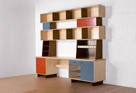 these bookcases are inspired by donald judd and jean prouve designed as stacked plywood boxes casa kids nursery furniture