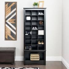 tall entryway cabinet. Beautiful Cabinet Image Is Loading PrepacTallShoeCubbieEntrywayCabinetBlack For Tall Entryway Cabinet C