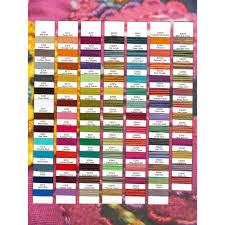 Wonderfil Thread Charts Wonderfil Sue Spargo Eleganza Thread Colour Chart