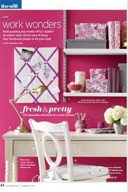 pink office desk. pink office desk