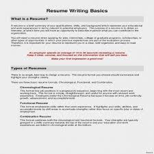 19 Luxury Chronological Resume Format Bizmancan Com