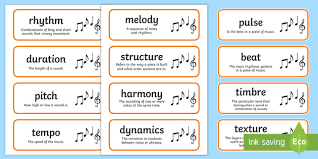 Well, we're looking for good writers who want to spread the word. Elements Flash Cards Music Teaching Resources