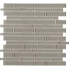 pebble interlocking 12 in x 12 in x 8mm glass mesh mounted mosaic tile 10 sq ft case