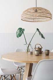 Lamp Boven Eettafel Rieten Hanglamp De Remade With Love Met Bank