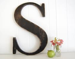 captivating large letters and wall black wooden wall letter wall art baby nursery initial letters for