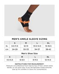 Mens Core Compression Ankle Sleeve