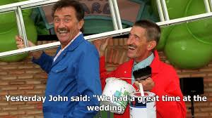 Third chuckle brother jimmy patton, 85 weds 26yearold fan of the ...