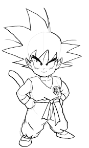 Small Picture goku coloring pages 14 marbal