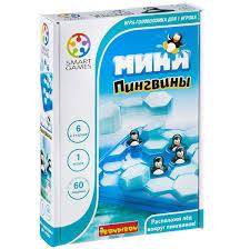 Настольная <b>игра BONDIBON Мини</b>-<b>пингвины</b> - купить по лучшей ...