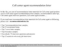 Call Center Agent Recommendation Letter 1 638 Jpg Cb 1408933589