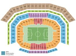 Levis Stadium Seating Chart Section Row Seat Number Info