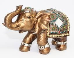 decorating stunning elephant figurines for home decoration ideas