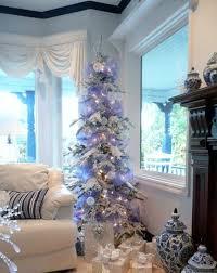 88 Best Blue White Christmas Images On Pinterest Christmas Blue Blue Christmas Tree Ideas