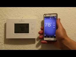 install the sensi thermostat in a few minutes sensi emerson wifi thermostat review and install