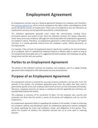 Weatherman time, inc (the 'company'), a corporation organized and existing under the laws of the state of ohio with its head office located at: Employment Agreement By Agreements Org Issuu
