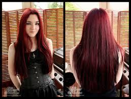 Dark Hair Style black hair redcolors dye dark red color medium hair styles ideas 2029 by wearticles.com