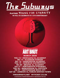 Chart On The Course Of Time From Eternity To Eternity The Subways Young For Eternity