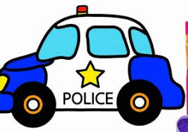 cars drawings for kids. Plain For Car Drawing Kids How To Draw Police  Coloring Pages For Kid  Children Intended Cars Drawings T