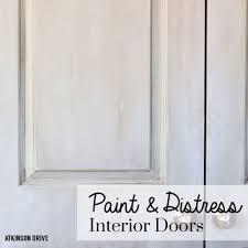 Interior Door paint interior doors photographs : How to Paint and Distress Interior Doors   Atkinson Drive