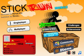 stick run 2 popular facebook game stick run lands on ios and android devices