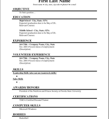 Free Online Resume Templates Printable Formidable Online Free Resume Template Templates For Word Open 53
