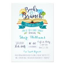 Build A Library Baby Shower Invitation  For Friends Library Themed Baby Shower Invitations