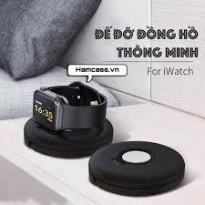 Đế đỡ đồng hồ thông minh Apple Watch nhỏ gọn tiện lợi mang đi chính hãng  PZOZ phù hợp series 1/2/3/4/5/6/SE - Đế sạc đứng