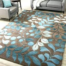 turquoise brown rug red brown and turquoise rug big round rugs
