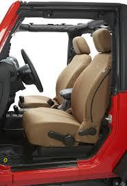bestop custom tailored front seat covers for 07 12 jeep wrangler jk quadratec