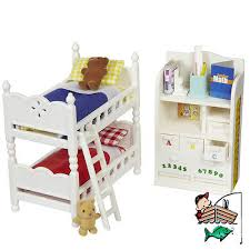 Calico Critters   Childrens Bedroom Furniture Set CC2441 Bunk Beds U0026  Accessories