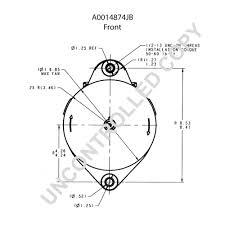 A0014874jb front dim drawing
