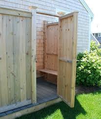 pvc outdoor shower cape cod shower kits outdoor shower enclosure kit outdoor showers enclosures cedar cape