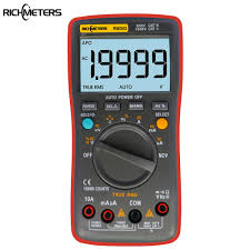 Digital Multimeter <b>RM303 True RMS 19999 Counts</b> NCV Frequency ...