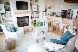 coastal beach furniture. Blue Living Room Coastal Beach Decor With Dark Furniture Ews Ideas Awesome Collection Of Decorating