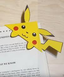 diy pokemon corner bookmark diy corner bookmarks cute bookmark ideas learn how to