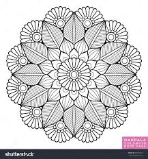 Flower Mandala Vintage Decorative Elements Oriental Pattern